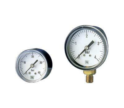 Utility Commercial Pressure Gauges MS1 DN40-50 +محصولات